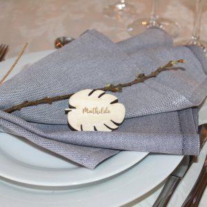 Bordkort blad birk