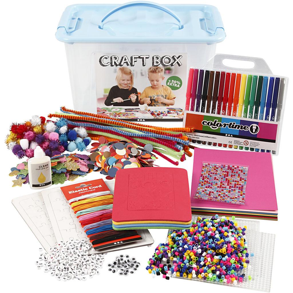 Hobbybox, ass farver