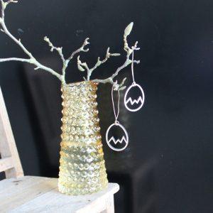Knækket æg streg træ