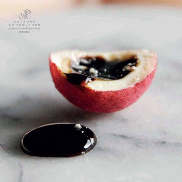Lakridstrøffel fra Aalborg Chokoladen