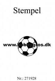 Fodbold stempel