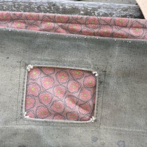 Canvas shopper mønstret foer