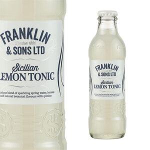 FRANKLIN & SONS LEMON TONIC WATER - 20CL